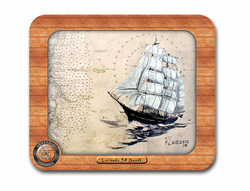 Clipper ship Mouse Pad
